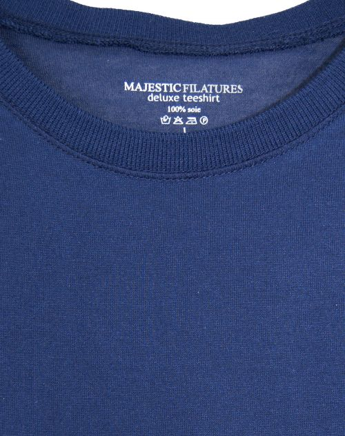 Majestic Filatures Longsleeve Seidenjersey LUXURY SILK ink