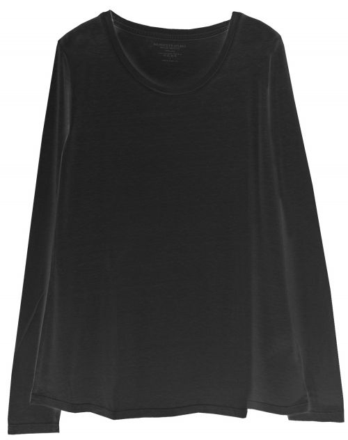 Not Shy Poncho Voile KASSIA noir