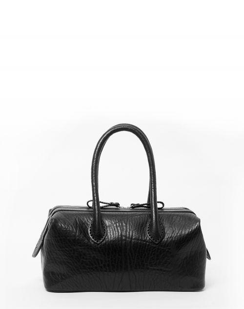 Oslu Lady Box Bag aus Leder Hera black
