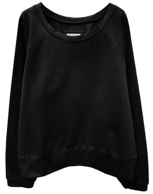 Hedda William Sweater Hanni Bio Baumwolle black