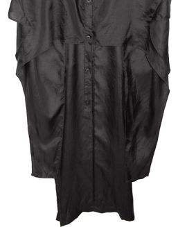 Barbara I Gongini Seidentop CAP SLEEVE SILK BLOUSE black