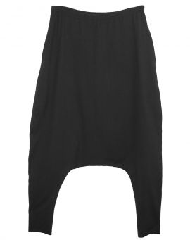Hedda William Jersey Low Crotch Hose PERNILLE Bio Baumwolle black