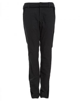 Hannes Roether Flanell Hose SODA black zenit