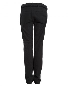 Barbara I Gongini Slim Lederhose DARK BIKER black