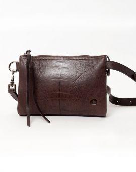 Oslu Body Bag Tasche aus Leder EMBLA brown