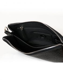Oslu Body Bag Tasche aus Leder EMBLA black