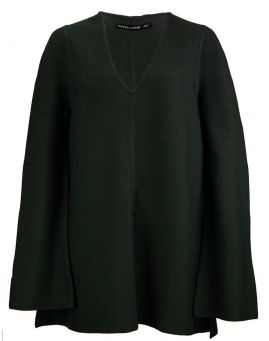 Hannes Roether Merino A-Line Bellsleeve Strickpullover Takashi hades