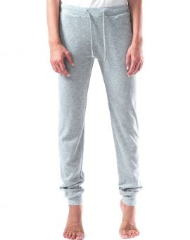 Majestic Filatures Frottee Jogger gris chine clair