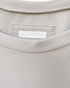 Hedda William Sweater Hanni Bio Baumwolle sand