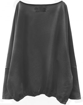 Hedda William Bat Sweater Liv Bio Baumwolle dark grey